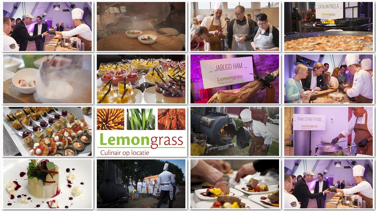 Teamfoto Lemongrass - Culinair op locatie